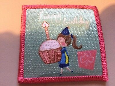 Girl Guides / Scouts Happy Birthday Cupcake