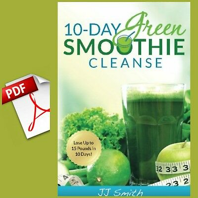 10-Day Green Smoothie Cleanse by J.J. Smith[E~B00K]