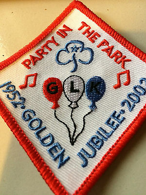 Girl Guides / Scouts Golden Jubilee Party in the Park