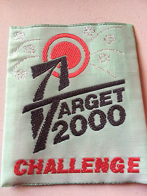Girl Guides / Scouts Target 2000 Challenge