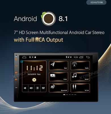 Xtrons Ts708L Android 8.1 4Core 10 Pollici Autoradio Car Player 2Din Universale