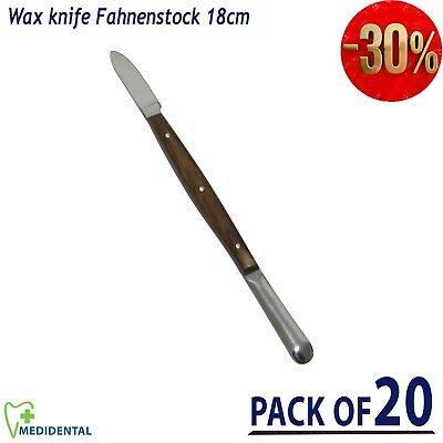 Wax knife Fahnenstock Dental alginate wax Plaster Porcelain Modeling Lab knife