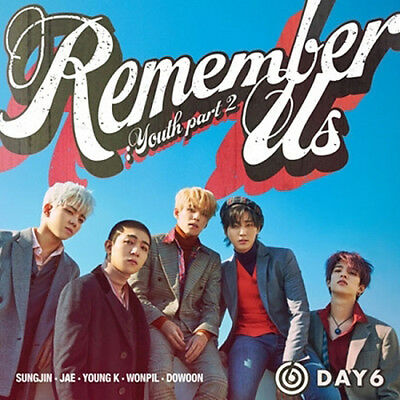 DAY6 REMEMBER US:YOUTH PART 2 4th Mini Album RANDOM CD+Book+Card+Pre-Order+GIFT