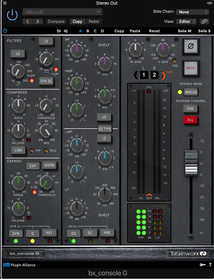 Plugin Aliance Brainworx bx_console G (license transfer)