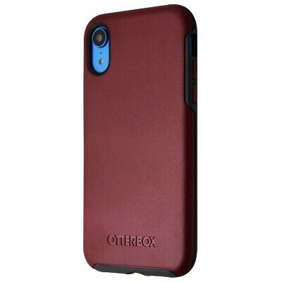 OtterBox Symmetry Series Case for Apple iPhone XR - Fine Port (Red / Slate Grey)