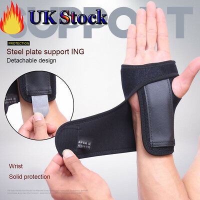 Wrist Hand Brace Support Carpal Tunnel Splint Sprain Arthritis Stabilizer Strap