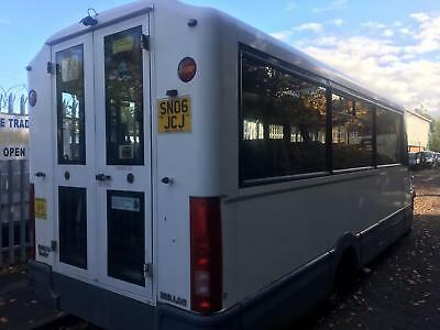 IRIS.BUS DAILY mellor conversion wheel chair lift 50 C14 lwb 16 seater