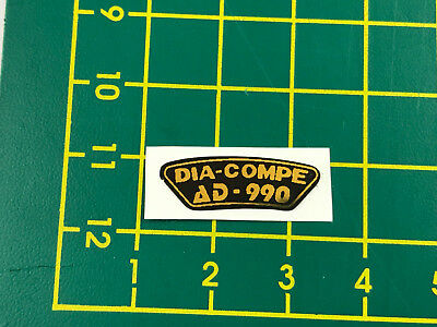 old school bmx decals stickers dia compe 901 brake black clear set