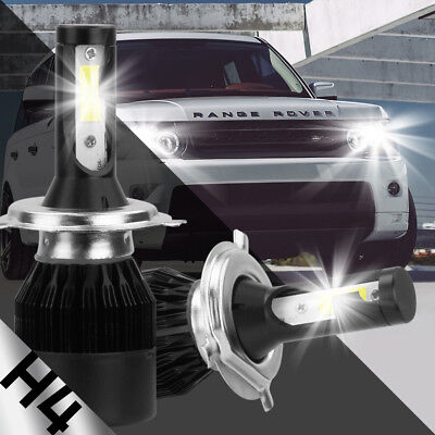 H4 HB2 9003 2-Side LED Headlight Conversion Kit 2300W 295000LM High Lo Beam Bulb