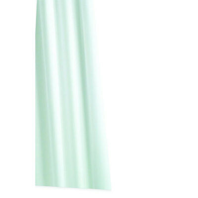 Croydex Textile Shower Curtain -Plain Polyester White 1800mm x 1800mm Easy clean