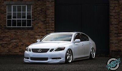 06-07 LEXUS GS300 GS430 JDM INGs Style PU Front Bumper Lip Poly-Urethane