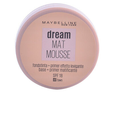 Maquillaje Maybelline mujer DREAM MATT mousse #40-fawn