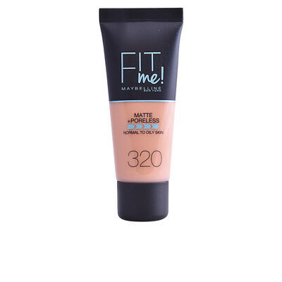 Maquillaje Maybelline mujer FIT ME MATTE+PORELESS foundation #320-natural tan