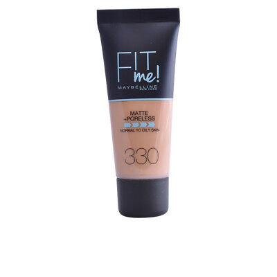 Maquillaje Maybelline mujer FIT ME MATTE+PORELESS foundation #330-toffee