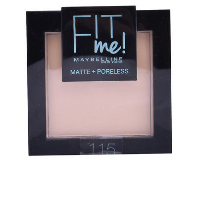 Maquillaje Maybelline mujer FIT ME MATTE+PORELESS powder #115-ivory