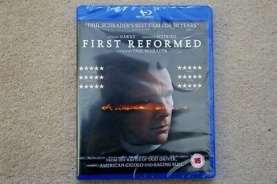 Blu-Ray First Reformed    Brand New Sealed Uk Stock