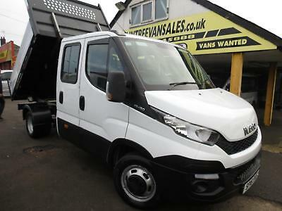 Iveco Daily 2.3 TD 35C13 LWB DriveAway Double Cab 2 Way Tipper BRAINTREE ESSEX