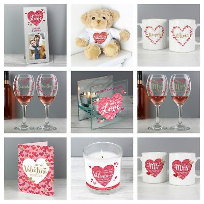 Personalised Valentines Gift Present Ideas for Women Girlfriend Wife Female Her