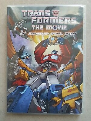 Transformers The Movie (DVD Full & Wide Screen- 2 Disc Set 20th Anniversary SE)