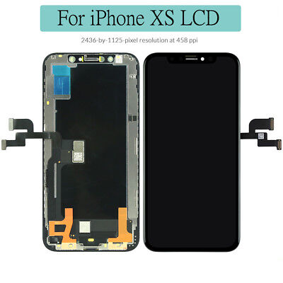 For iPhone XS High Quality LCD Screen Replacement Digitizer Assembly Display