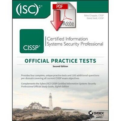 CISSP Official (ISC)2 Practice Tests 2nd edition (PDF/EB00K)
