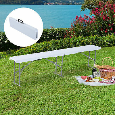 Outsunny 6ft Folding Camping Bench