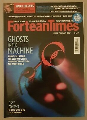 Fortean Times FT363 February 2018 - Ghosts in the Machine; First Contact