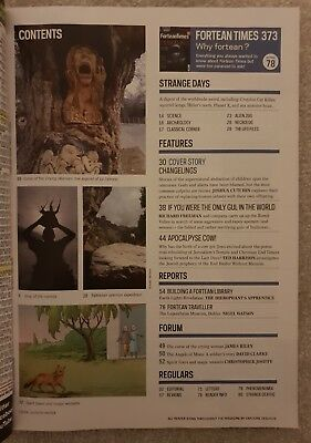 Fortean Times FT373 December 2018 - Changelings; Sex-mad Manimals