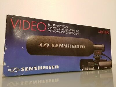 Sennhieser MKE 300 Directional Shotgun Video Camera Microphone