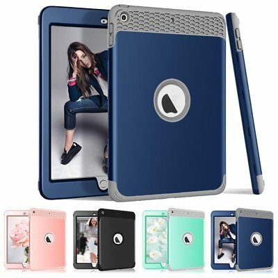 Shockproof Heavy Duty Rubber Hard Case Cover For New iPad 9.7 2018 6th Gen