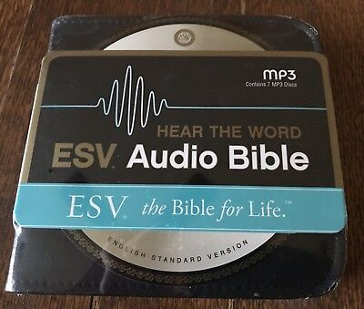 DISC-ESV HEAR THE Word Complete Audio Bible-MP3 (7 CD) NEW