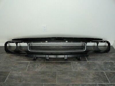 2008 - 2013 Dodge Challenger Complete Upper Front Bumper Grille p/n LC22-104AA