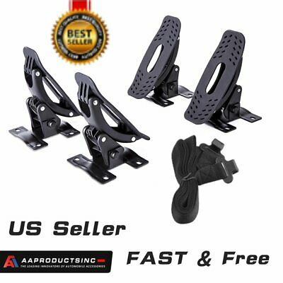 4 Pcs Saddle Kayak Carrier Rack Top Roof Mount Snowboard Canoe Boat Car Truck WO