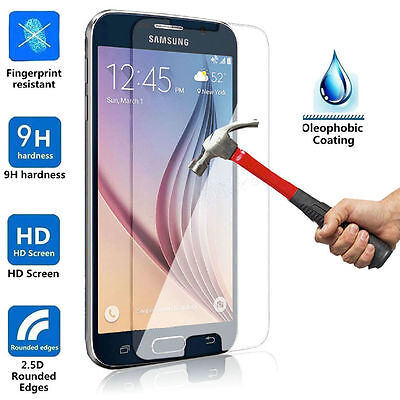 For Samsung Galaxy Phone S9 Clear Sensitive Tempered Glass Film Screen Protector