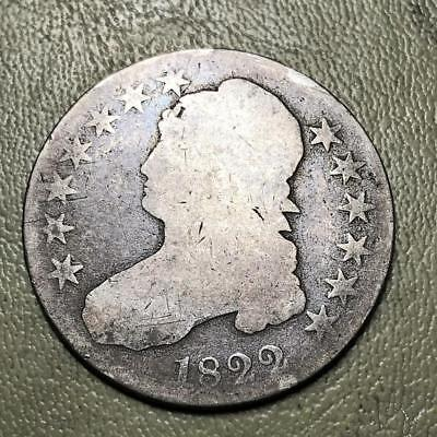 1822  Capped Bust Half   Affordable Early Date  #8818