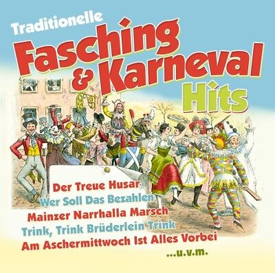 Various - Traditionelle Fasching and Karneval Hits CD ZYX Music NEU