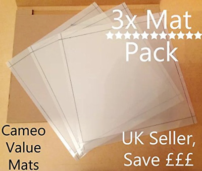 """12""""x12"""" Value cutting mat x3 Pack! suitable for Silhouette Cameo Carrier sheets"""