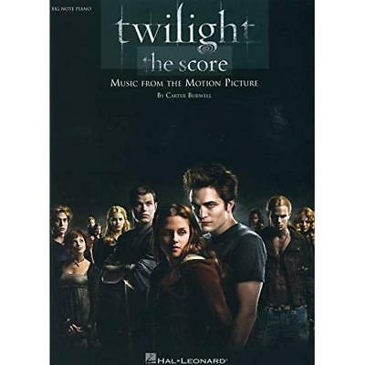 Twilight - the Score: Big-note Piano Burwell, Carter (Composer)
