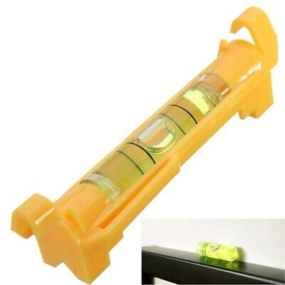 Mini Pocket Line Hanging Spirit Level Brick Rope Cord Wire String Bubble Hanger