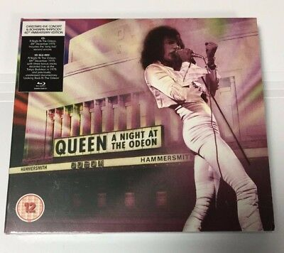 Queen - A Night At The Odeon ( CD + Blu-ray - Deluxe Edition ) - NEW SEALED