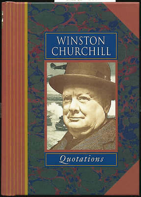 WINSTON CHURCHILL QUOTATIONS (Famous Personality Quotations), Churchill, Sir Win