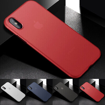 Ultra Thin Slim Matte PP Phone Case Cover For iPhone X XR XS Max Plus 8 7