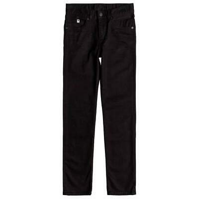 DC Boys Worker Slim Stretch Denim - Black Rinse |  DC Boys Skinny Denim Jeans