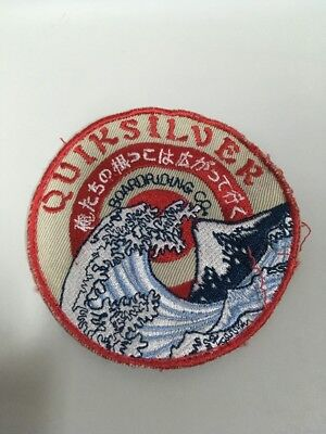 Patch Toppa Quiksilver Boardriding Surf Wave Onda