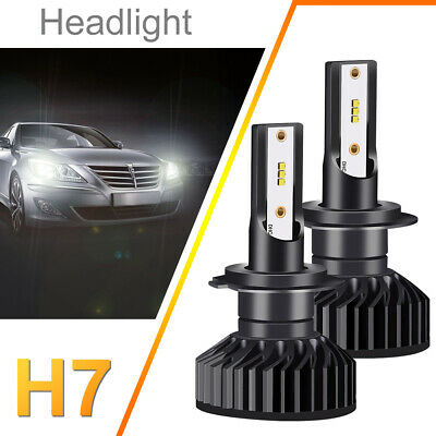 Kit LED H7 110W FULL CANBUS Lampadine Faro Bulbi Auto 12000LM ZES Chips LD1800