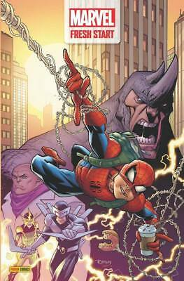 Lot Complet FRESH START DAY Février 2019, Panini Comics, Spider-Man 1 **NEUF**