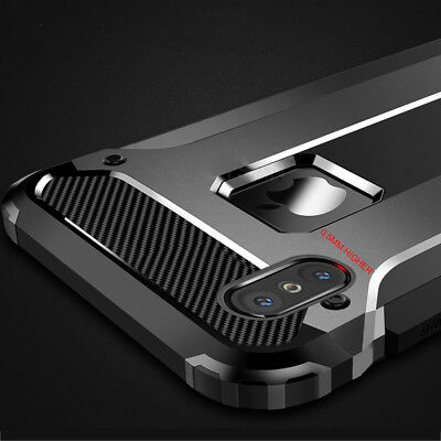 Shockproof Armor Case for iPhone Xs Max/Xr 5 6s 7 8 Plus Hybrid Gel Rubber Cover