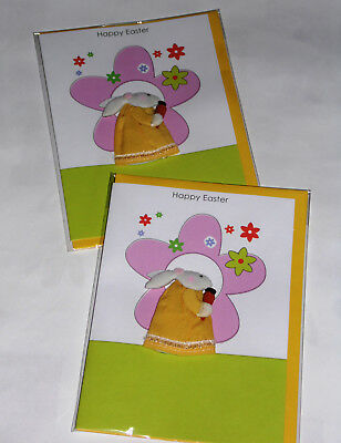 "HANDMADE EASTER CARDS X 12, JUST 30p, 7"" x 5""   ( B355"
