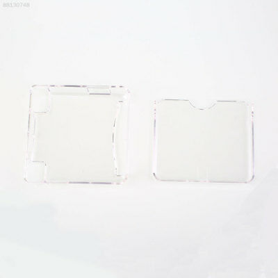 887E White Transparent Crystal Case Protection Hard Cover Sleeve For GBA SP