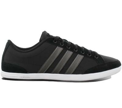 Low Herren Leder Leather Fashion Adidas Schwarz Schuhe Caflaire 42 Sneaker wmNnv80O